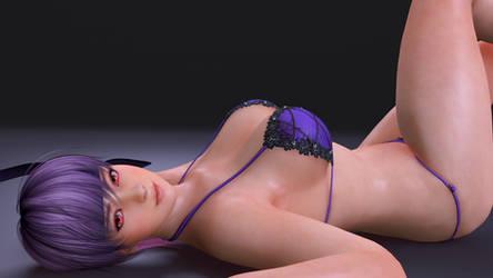 Ayane - Render -My body is ready XDDDDDD! by Dizzy-XD