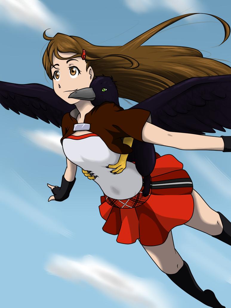 Fly through the Sky by KannaAsa