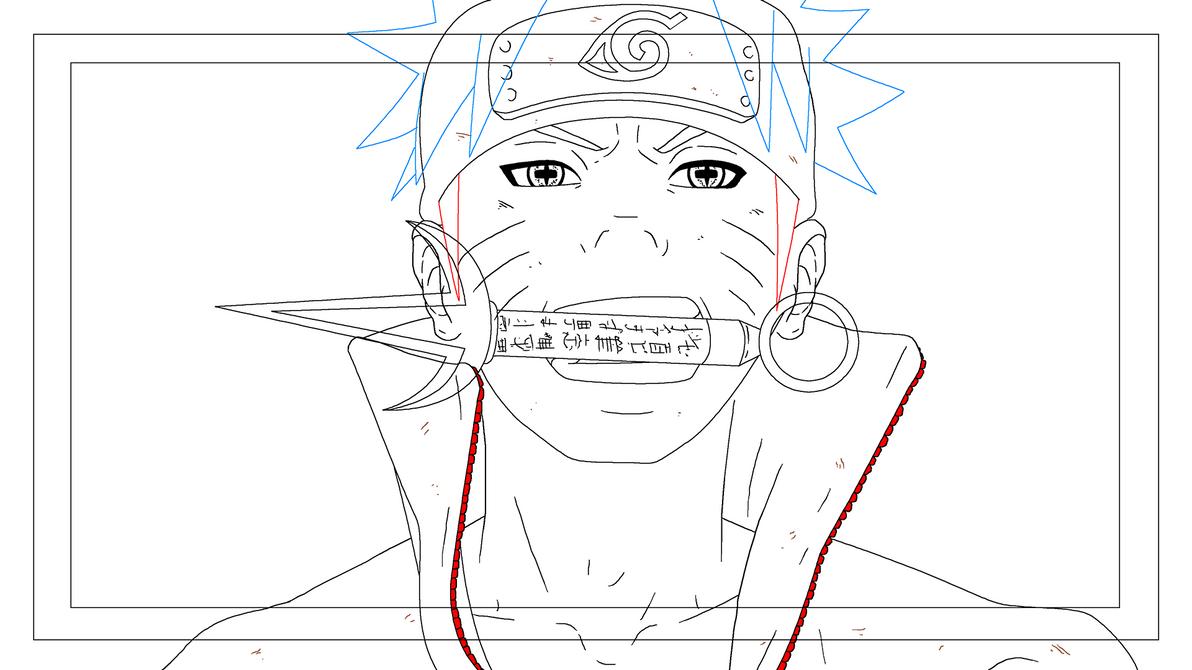 Naruto Animation WIP by Yurusen