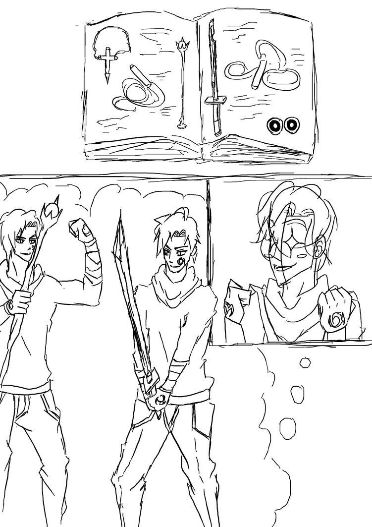 Manga w.i.p by Yurusen