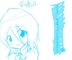 Rukia by AkatsukiWaffles