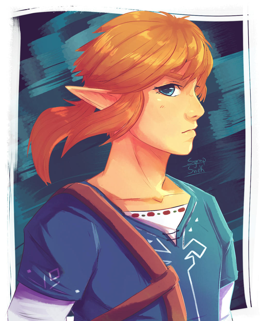 Link Botw By Syrup Snek On Deviantart