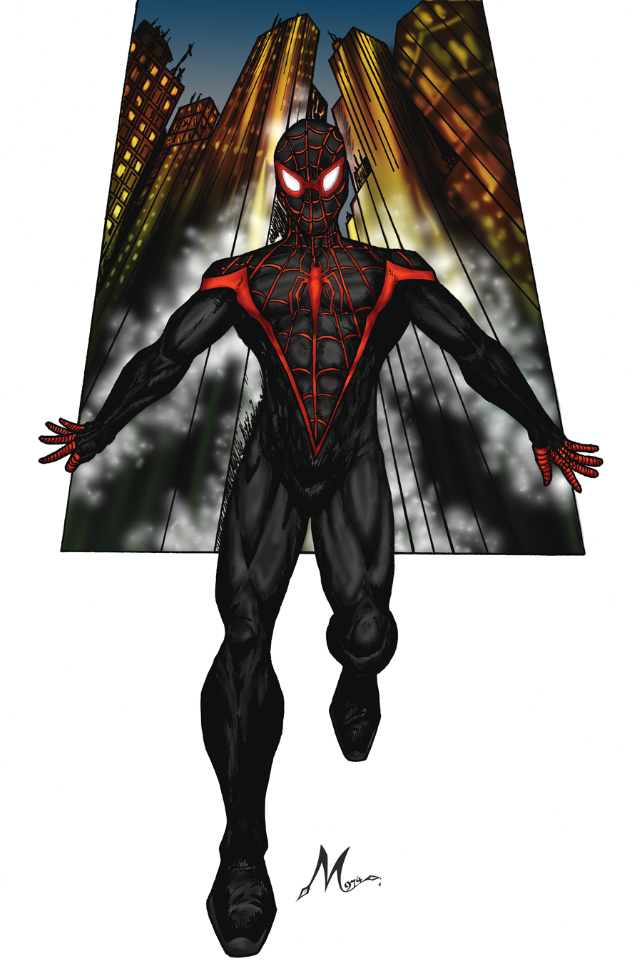 ULTIMATE SPIDERMAN NEW by Mich974