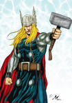 THOR  by mikemaluk color :