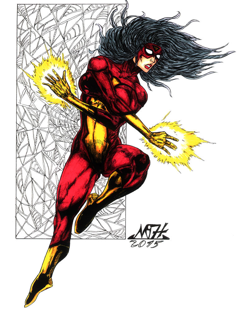 SPIDER WOMAN by Mich974