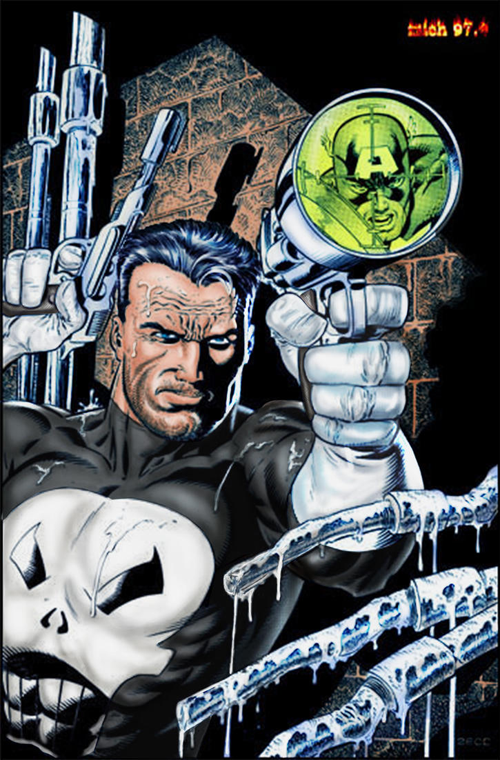 The Punisher by Mich974