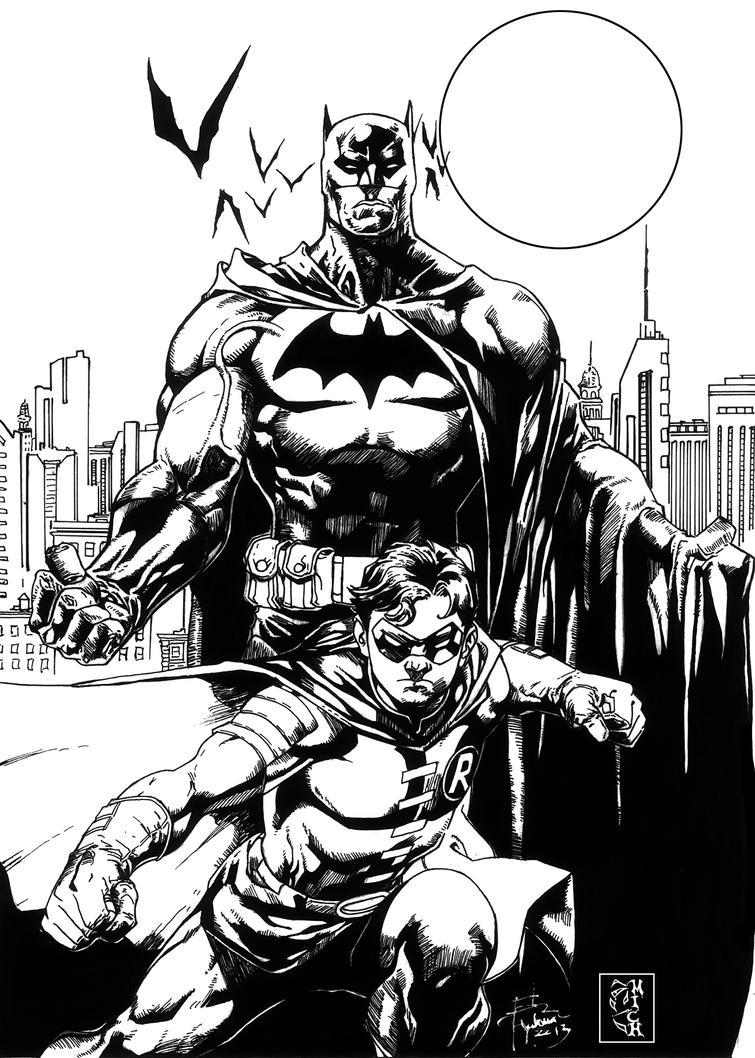 BATMAN ET ROBIN by Mich974