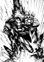 IRON MAN by Mich974