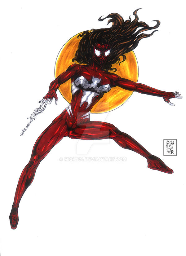 Ultimate Spiderwoman by Mich974