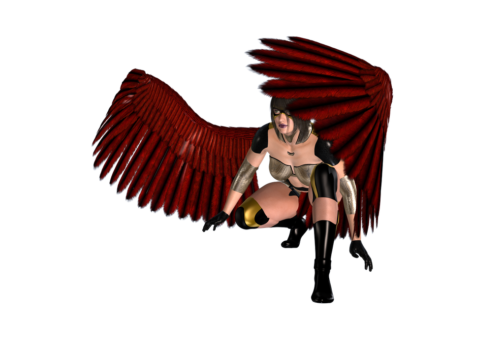 Red Angel by gothikuk