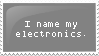 Naming Electronics by Stampedes