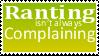 Ranting by Stampedes