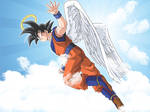Goku Angel Wallpaper