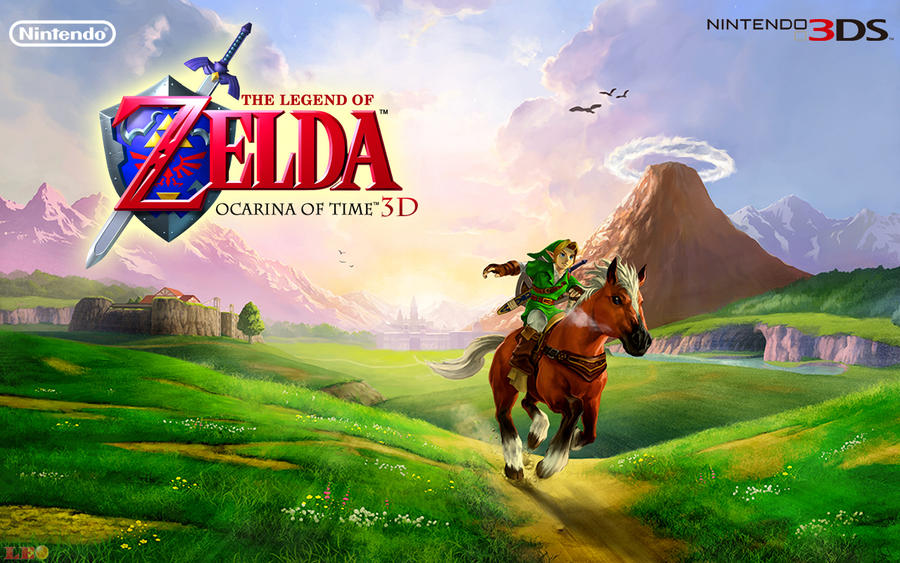 Zelda OoT 3D - Wallpaper by Link-LeoB