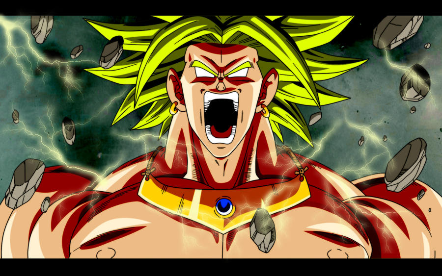 majin broly ssj3 angry broly wallpaper by
