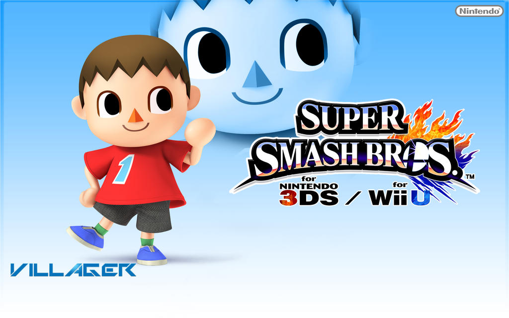 Villager super smash bros