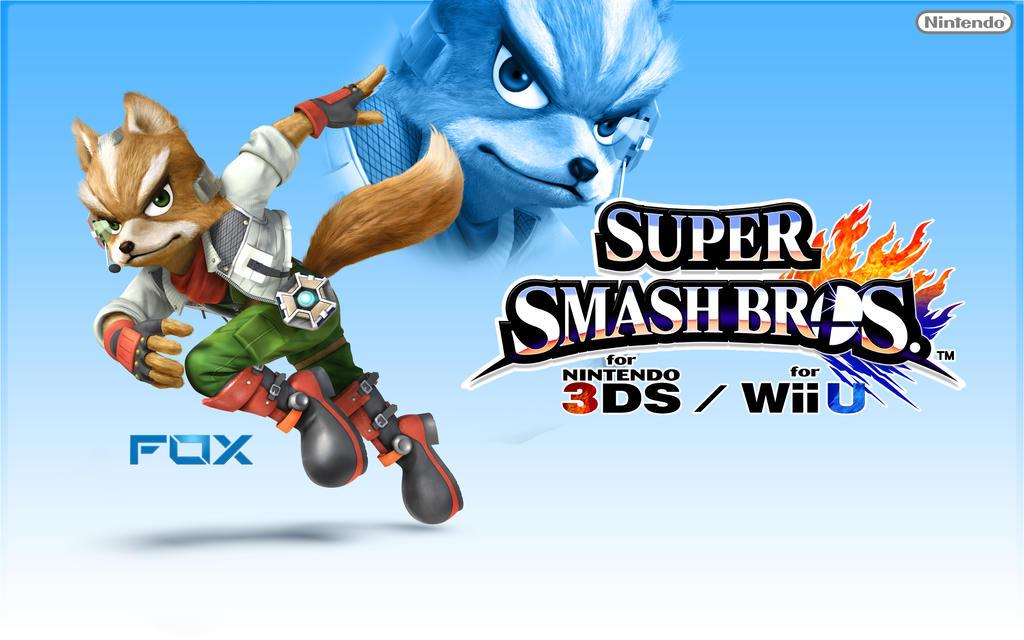 Fox Super Smash Bros Wii U