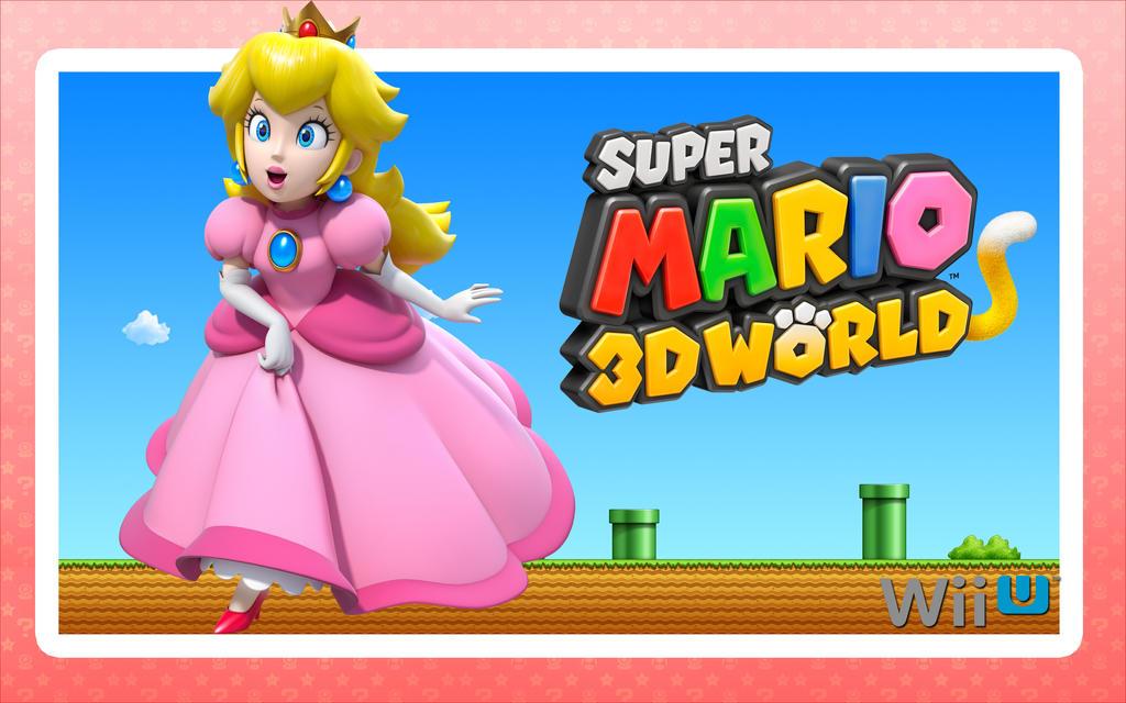 Peach - Super Mario 3D World by Link-LeoB on DeviantArt