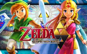Link and Zelda - A Link Between Worlds by Link-LeoB