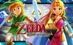 Link and Zelda - A Link Between Worlds
