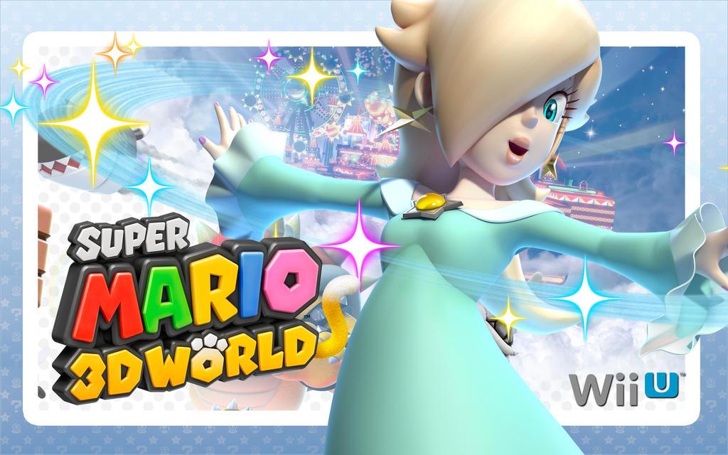 rosalina super mario 3d world by linkleob on deviantart