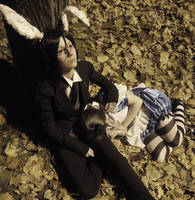 +I'll be right beside you+Kuro by snowwhiteqeen