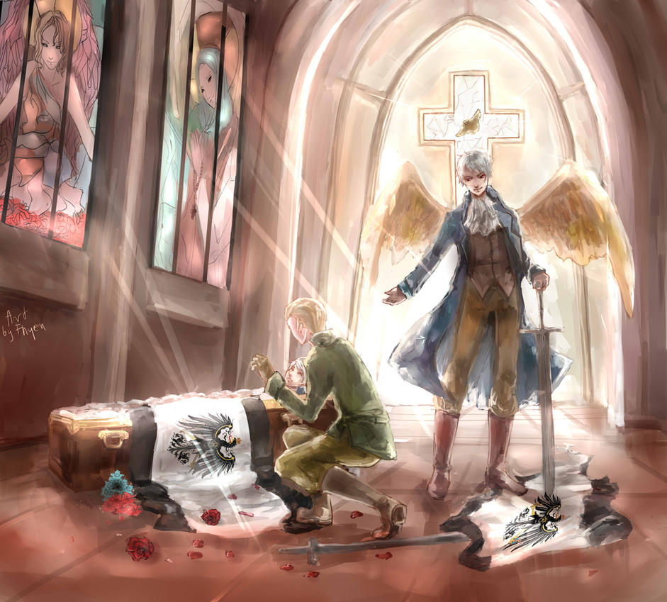 Aph: Germany  and Prussia -Brother... by Fhyen