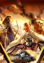 [aph Prussia] 1410-battle lost by Fenrin-kun