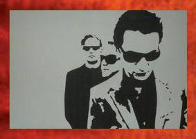Depeche Mode Painting -- 59.00 by Hodgy-Uk