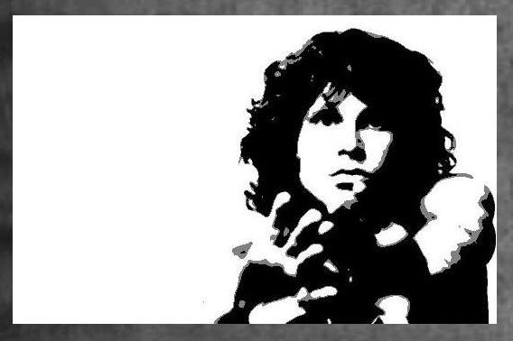 Jim Morrison Painting 6900 By Hodgy Uk