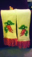 Golden Harvest/Carrot Top Scarf