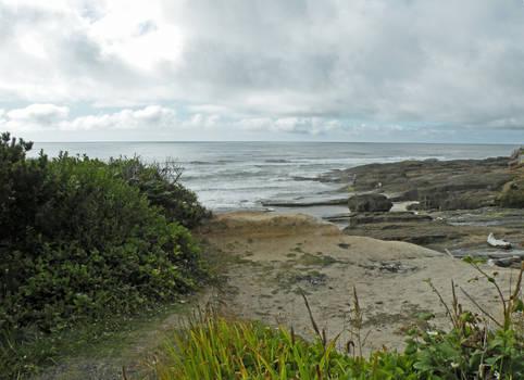 Sky Rock and Sea at Yachats