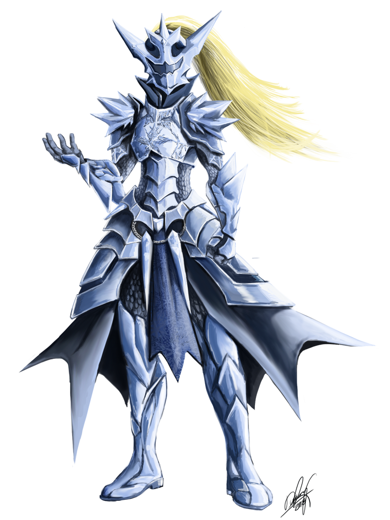 Ice Armor By Ankonox-dceh4v4 by AkkusuRaikan