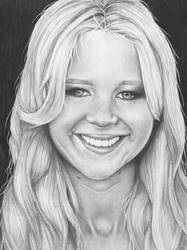 Jennifer Lawrence by lenaleigh