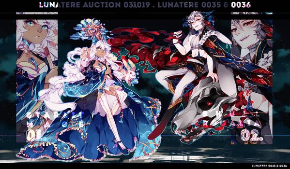[ 0035 / 0036 ] LUNATERE AUCTION - OPEN!