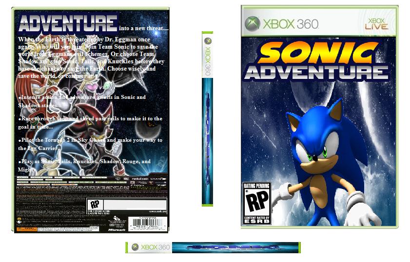 Sonic Adventure 3 Box Art Xbox 360 By Thebluespirit0 On Deviantart