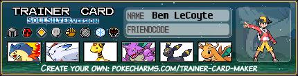 Ben LeCoyte trainer card (Johto) by Dragonitemaniac