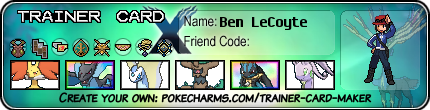 Ben LeCoyte trainer card (Kalos) by Dragonitemaniac