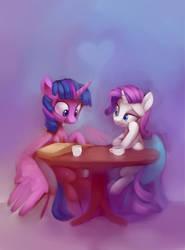 Cafe horses