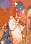 The Star and The Evening Spell by mahtte