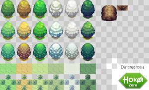 Season and Environment RPG tiles