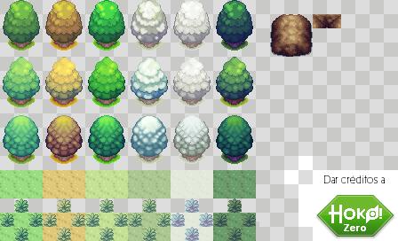 Season and Environment RPG tiles by LTSeraa
