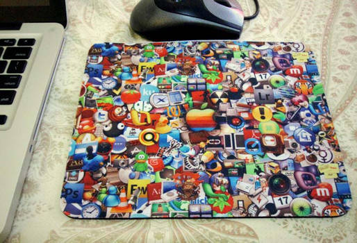 Mouse Pad with Mac