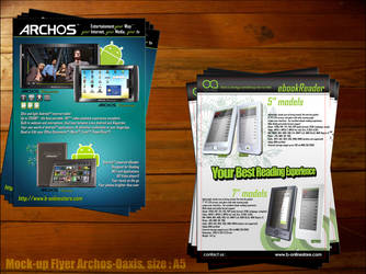 Mock-Up Flyer Archos Oaxis
