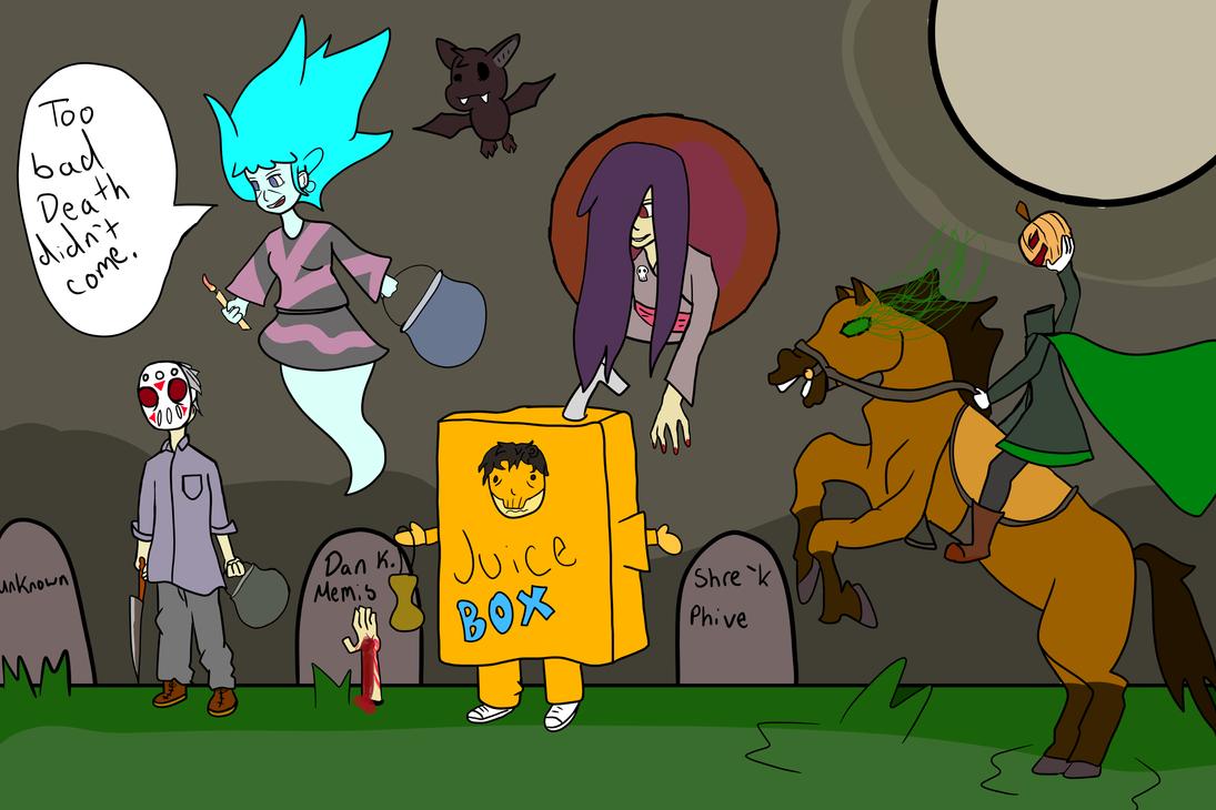 Happy halloween by JuiceboxDraws