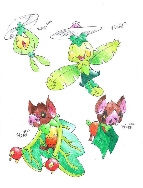 Flying Fruit by BrightObject