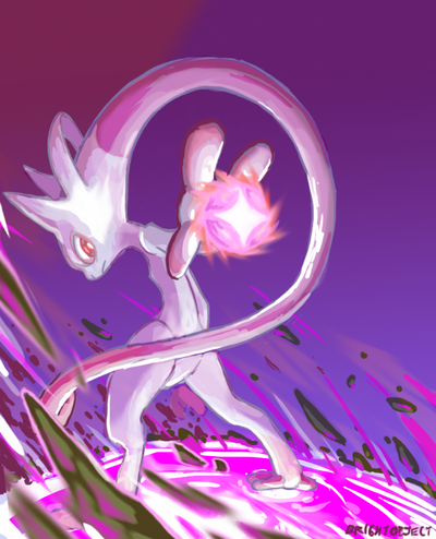 Smogon POTW: Mewtwo Y by BrightObject