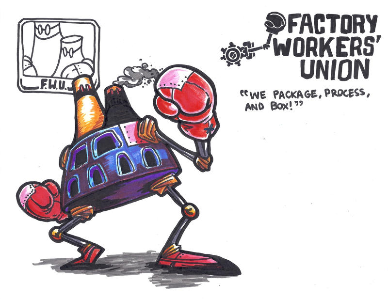 The Mechanical Man (Men?) of the People: F.W.U.! by BrightObject