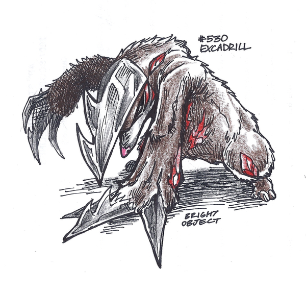 #530 Excadrill by BrightObject