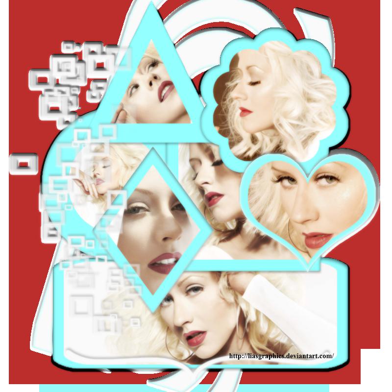 Christina Aguilera by Liasgraphics